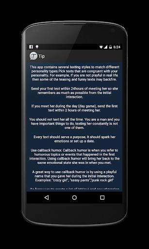 Texting Girls Guide Pro screenshot 4