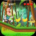 Grandpa Jungle Adventures Run icon