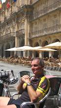 Photo: Chris Stone in Salamanca
