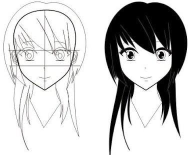 step by step drawing anime screenshot thumbnail