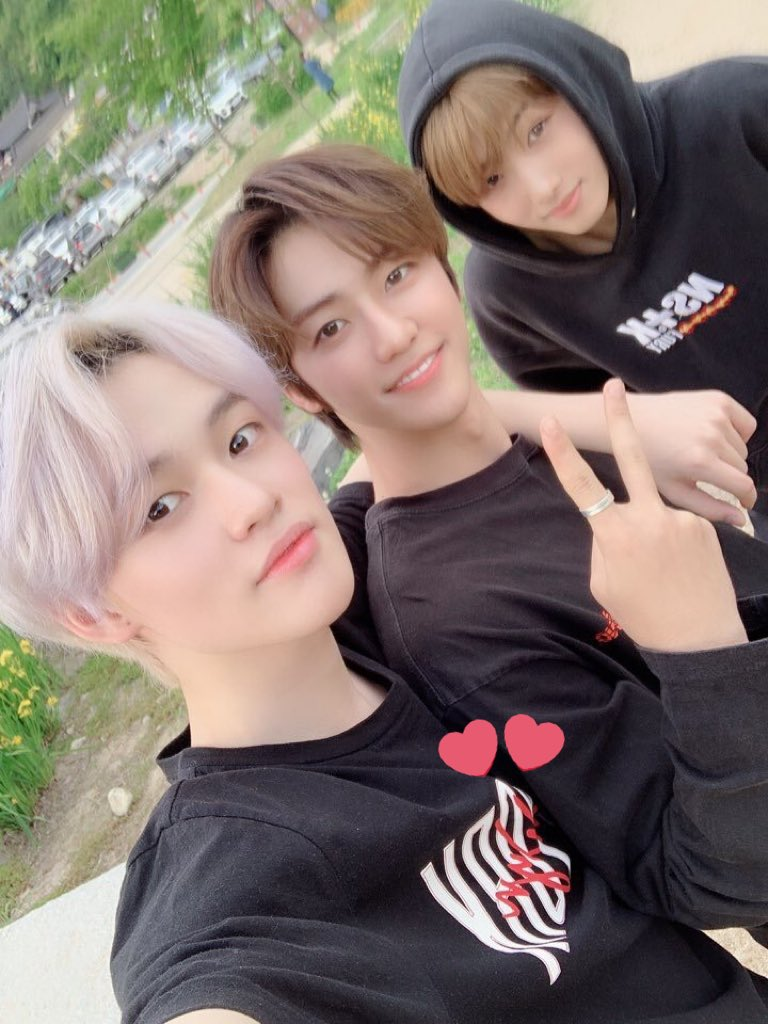 NCT Dream Chenle, Jaemin and Jisung