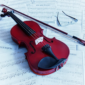 Violin 1 by Ari Wid - Artistic Objects Musical Instruments ( music, violin, biola, musical, instrument, violis, object )