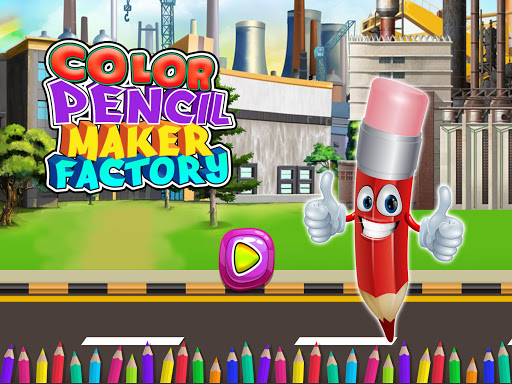 Color Pencil Maker Factory: Craft Colorful Pen  screenshots 1