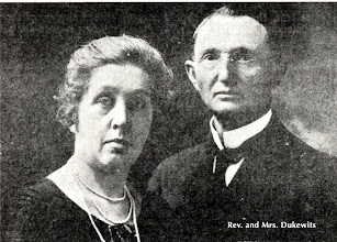 Photo: W. C. Dukewits and his wife — missionaries to India —1930-1957