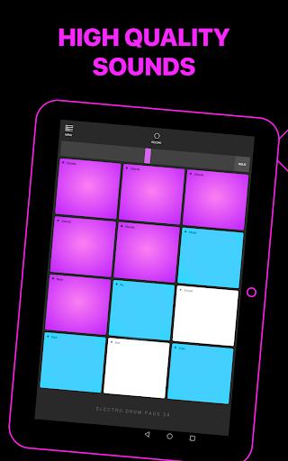 Electro Drum Pads 24 - Music & Beat Maker 2.5.5 screenshots 9