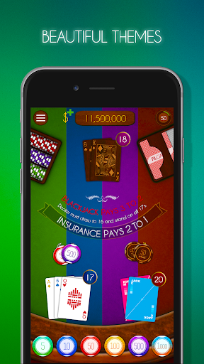 Blackjack! u2660ufe0f Free Black Jack Casino Card Game 1.7.0 screenshots 6