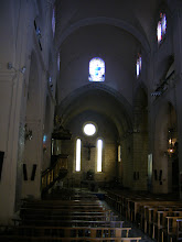 Photo: The church interior, with small windows typical of the period.