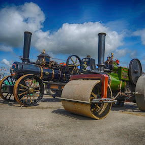 Ready for work by Cornish Nige  - Transportation Other ( vintage, hdr, steam shows, ploughing engine, steam roller )