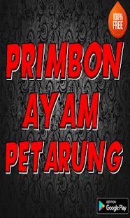 Primbon ayam petarung - náhled