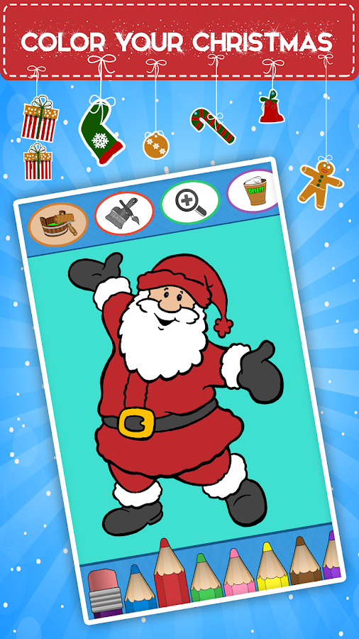 Kids coloring book christmas Android Apps on Google Play