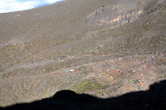 Photo: Barranco Camp from above