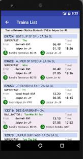 Indian Rail Train Info IRCTC - náhled