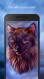 Cat in the sky live wallpaper - náhled