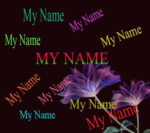 My Name Live Wallpaper Screenshot 1 2