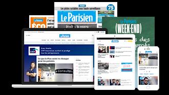 Le parisien intégrale papier+numérique