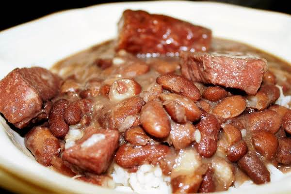New orleans red beans rice recipe just a pinch recipes new orleans red beans rice recipe forumfinder Image collections