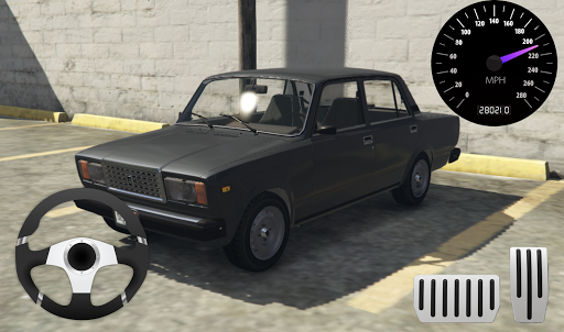 Drive Classic VAZ 2107 Parking apktram screenshots 1