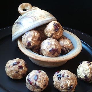 Pb & Fruit Protein Balls