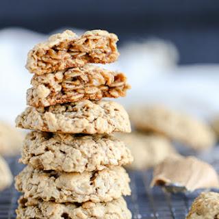 Peanut Butter Oatmeal Cookies (Gluten Free).