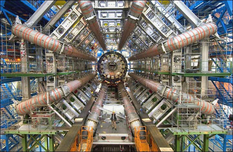 The Large Hadron Collider at CERN.