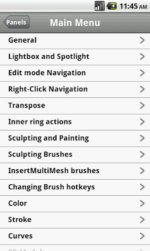 Shortcuts for Zbrush APK | APKPure ai