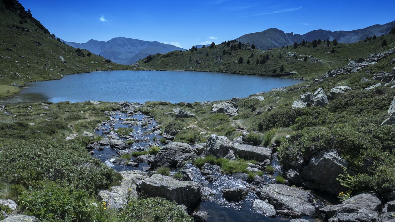 Lagos de Tristania en Andorra