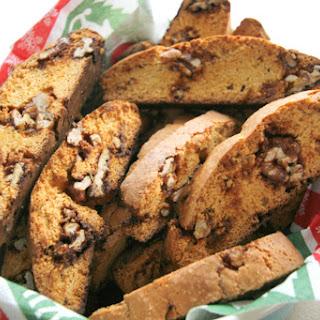 Cafe Fernando's Biscotti with Walnut Praline