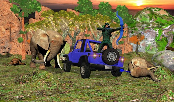 Wild African Forest Animal Shooting Archery Master apk screenshot