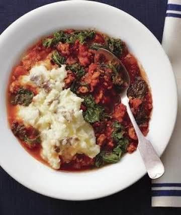 Sriracha Beef and Kale