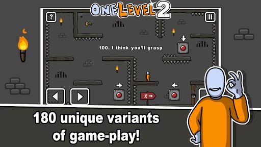 One Level 2: Stickman Jailbreak 1.6.3 screenshots 2