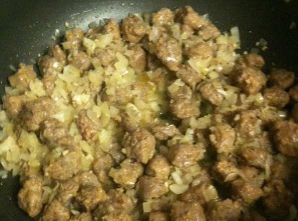 Once cooked, add in the garlic and cook until fragrant, about 30 seconds.