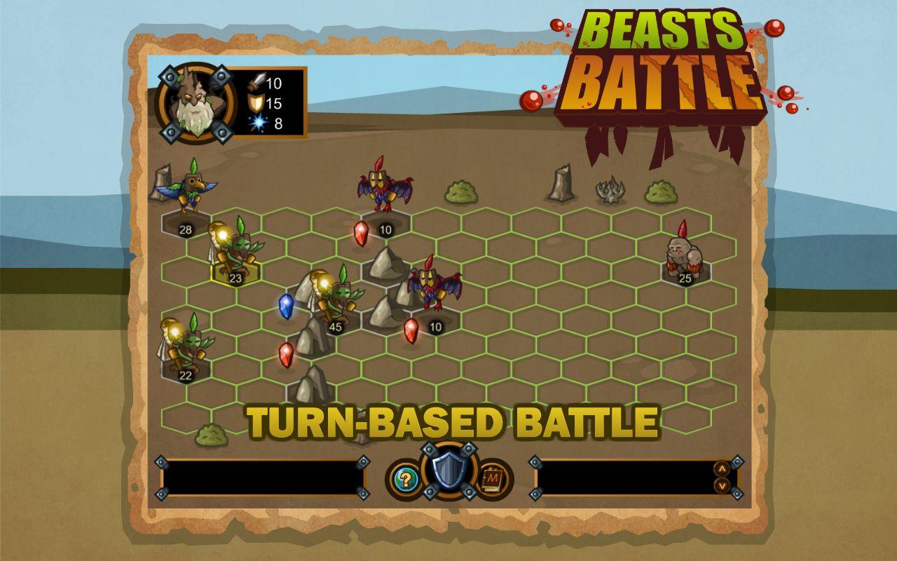 Beasts Battle HD- screenshot