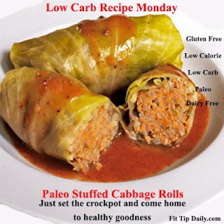 Low Carb Recipe Monday – Crock Pot Cabbage Rolls