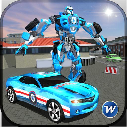 Police Car Robot Superhero (game)