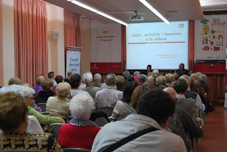 """Photo: Conferència """"Salut, activitat i benestar a la vellesa"""""""