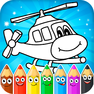Coloring pages for children transport 1.0.14 by ygroupgames logo