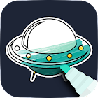 Space Coloring Game icon