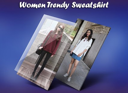 Women Trendy Sweatshirt Photo Suit - náhled