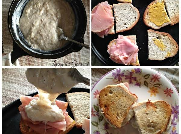 Croque Monsieur Panini Recipe