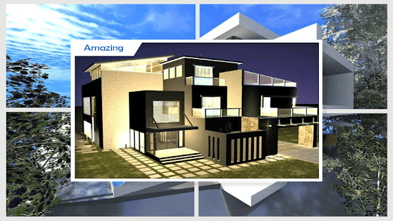 3D Modern House Plans - náhled
