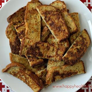 Make-ahead Freezer French Toast Sticks