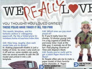 Interview by GamesMaster magazine