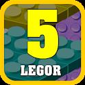 Legor 5 - Free Brain Game icon