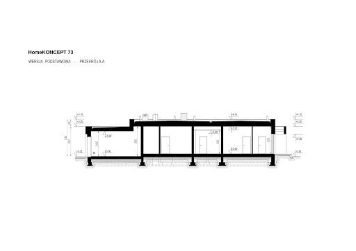Koncept-73 - Przekrój