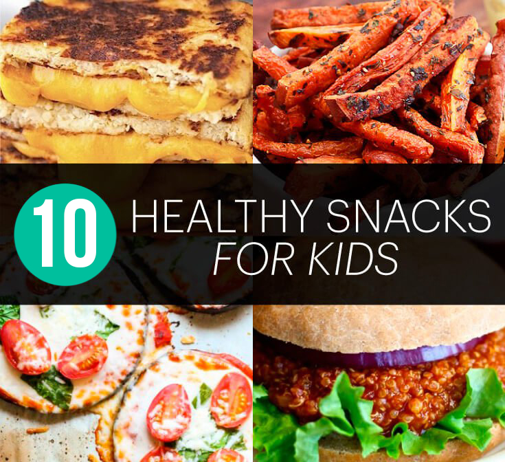 10 Healthy Snacks for Kids — Food They Will Love!
