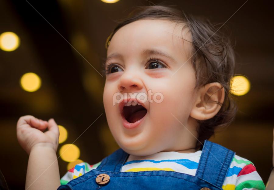 by Bilal Ahmad - Babies & Children Babies ( baby boy, happy, baby, bokeh, cute )