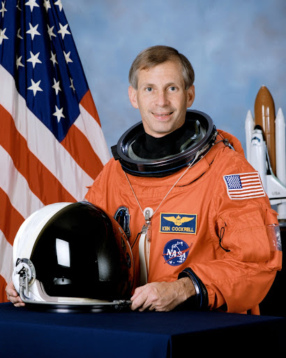 Official portrait of Astronaut Kenneth D. Cockrell