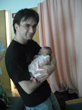 Photo: Audrey Anne meets Uncle Mike