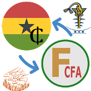 Francs CFA Ghanaian Cedis / XAF to GHS Converter