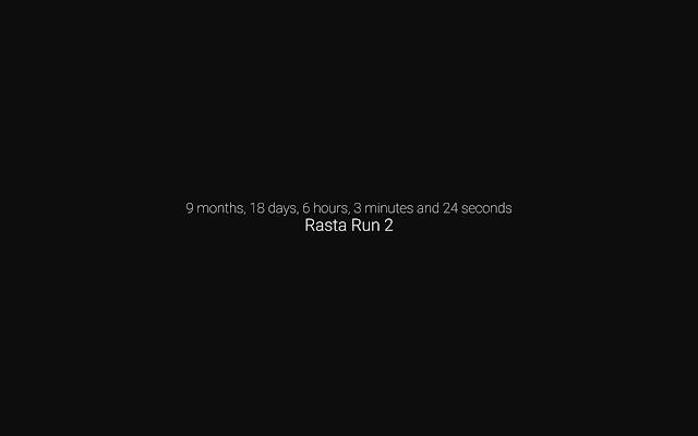 Countdown to Rasta Run 2